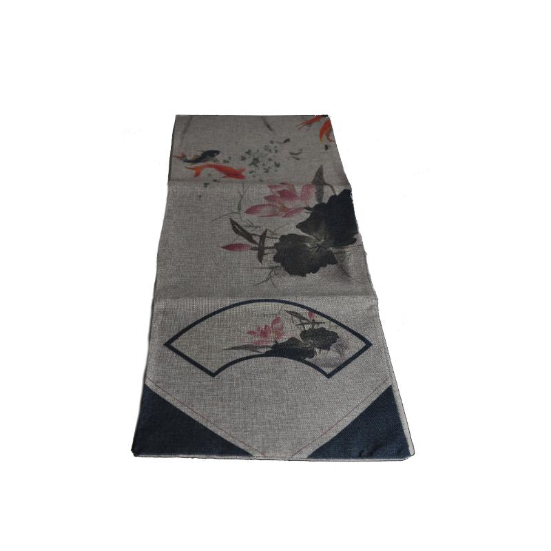Chemin de table/chemin de thé- Lotus 210cm