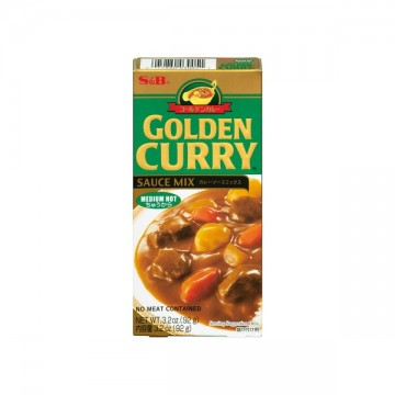 S&B bloque curry medium 92g