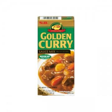 S&B bloque curry medium 92g